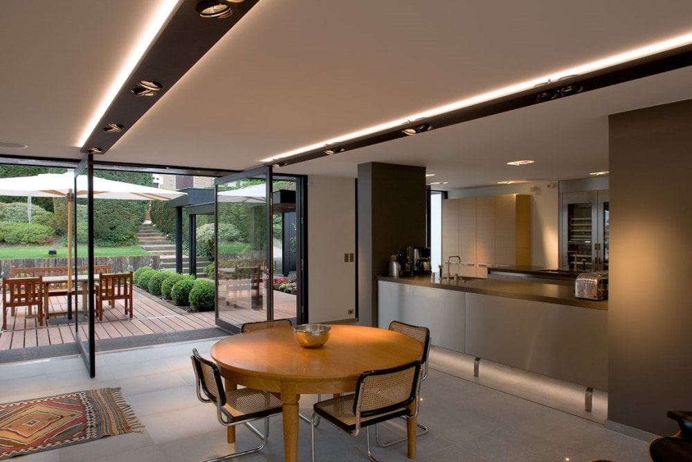 Led Verlichting Keuken Inbouw : Indirect Lighting Example