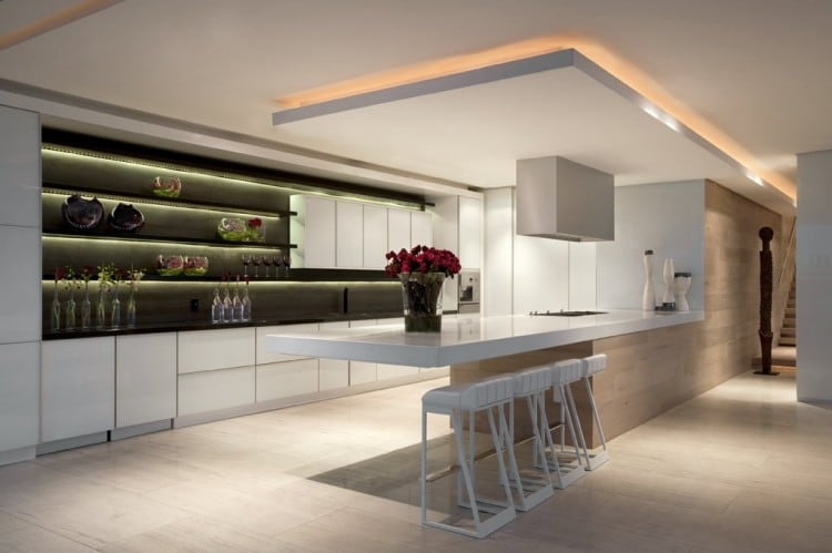 Keukenlampen Led : Modern Kitchen Ceiling Designs