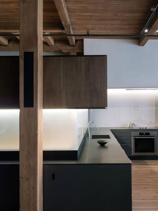 Keuken Aanrecht Strip : Modern Loft San Francisco