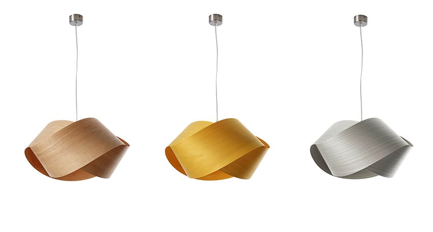 New at dmLights: LZF lamps, wood touched by light ...