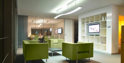 lighting in an office. A Look At The Future: Dynamic Lighting In Offices An Office C