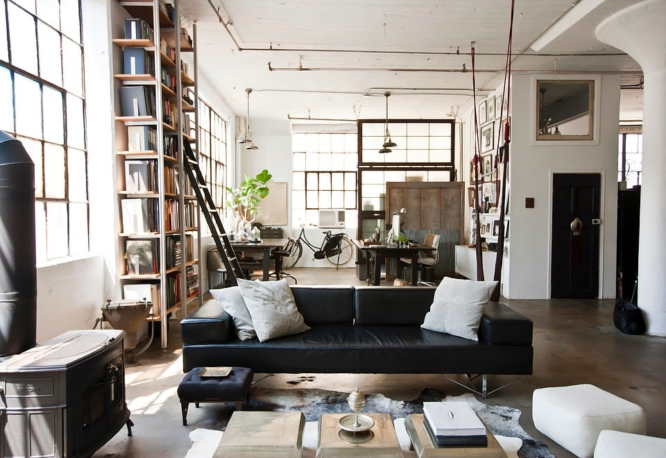 ... interior design style. Concrete floor & Everything you should know about industrial-style interior design ...