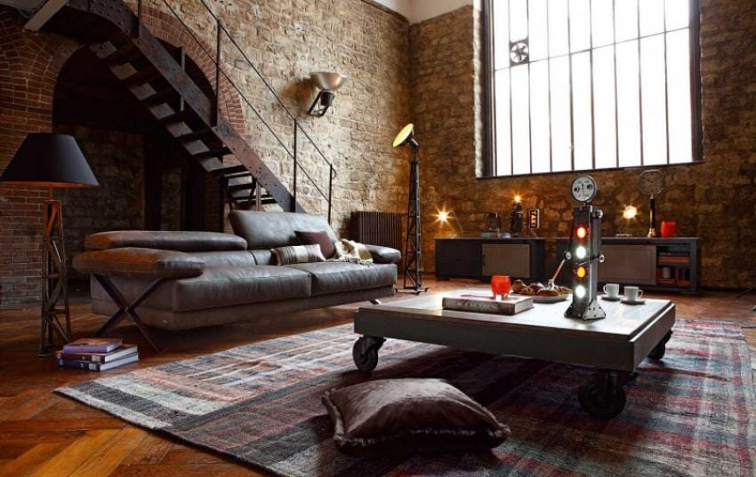 Natural Living Meubelen : Everything you should know about industrial style interior design