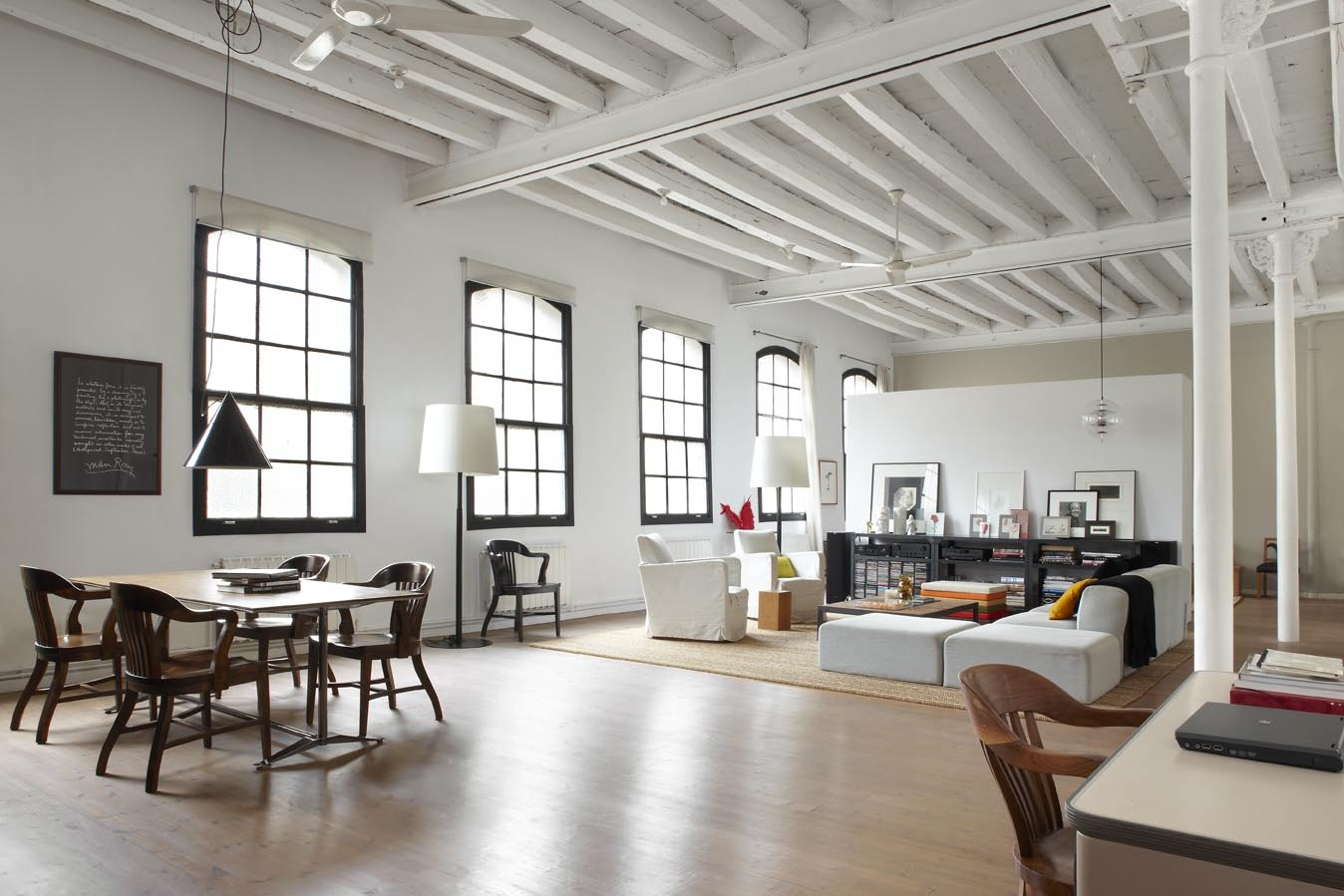 Open plan & Everything you should know about industrial-style interior design ...