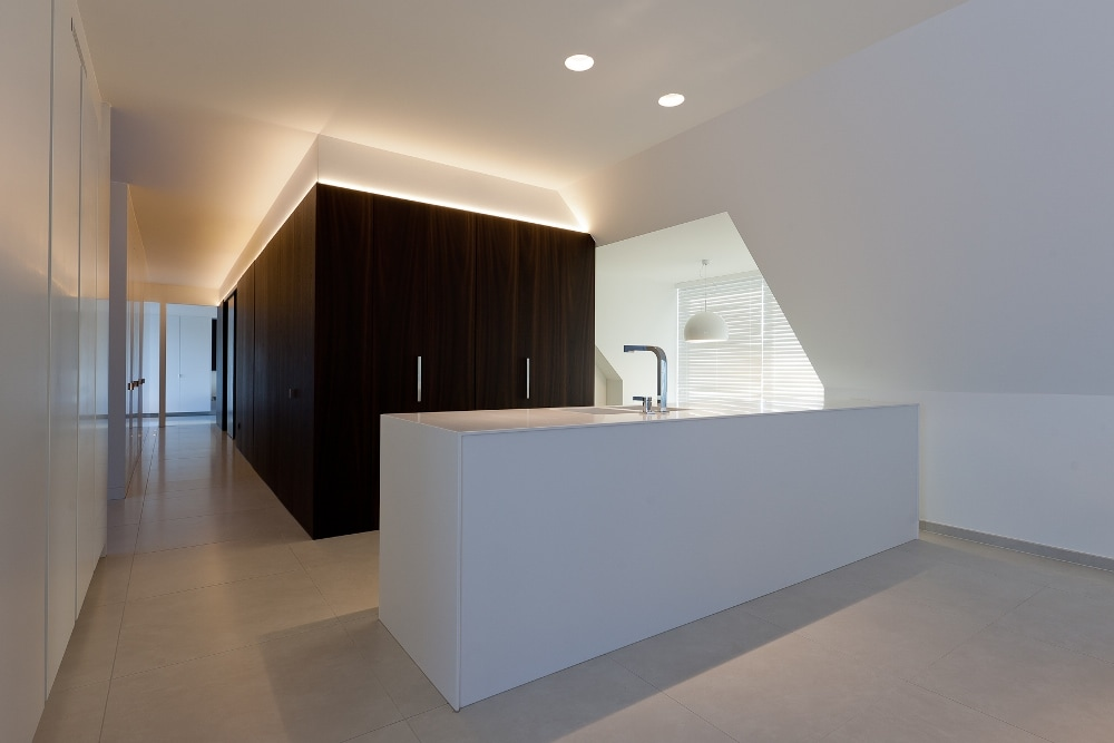 Minimalist interior design by filip deslee