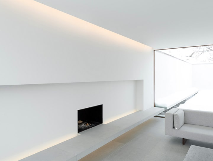 indirect lighting in a living room