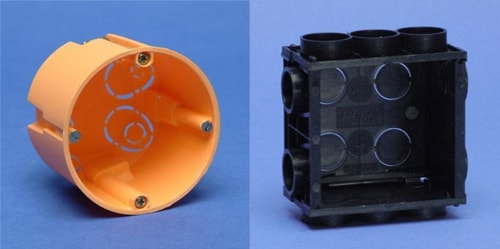 Electrical sockets for solid and cavity walls