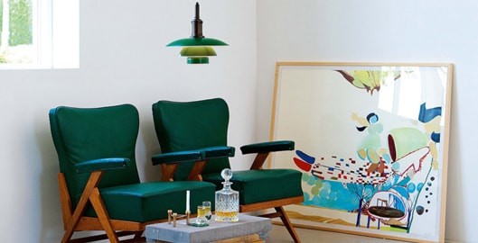 The retro beauty of a vintage interior | dmlights Blog