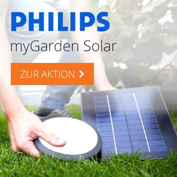 Philips myGarden Solar Aktion
