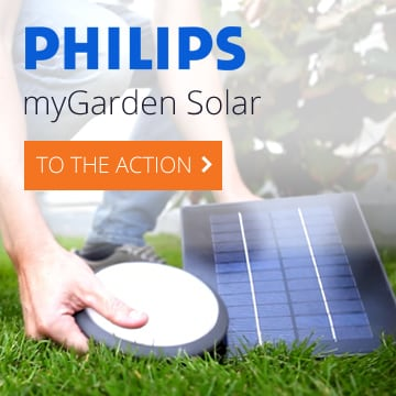 Philips Mygarden Solar Trendy Garden Lighting Using