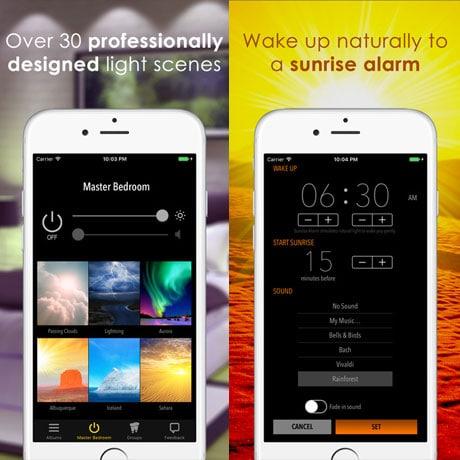 mit diesen hue apps bringen sie ihre beleuchtung auf ein h heres niveau dmlights blog. Black Bedroom Furniture Sets. Home Design Ideas