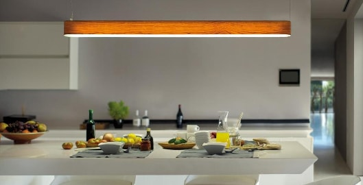 Sleek line lighting adds a modern touch to your interior