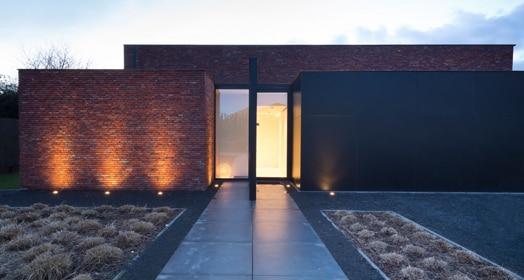 eclairage de fa ade les possibilit s et des conseils dmlights blog. Black Bedroom Furniture Sets. Home Design Ideas