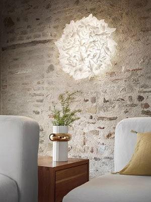 Slamp Veli Foliage wand/plafondlamp