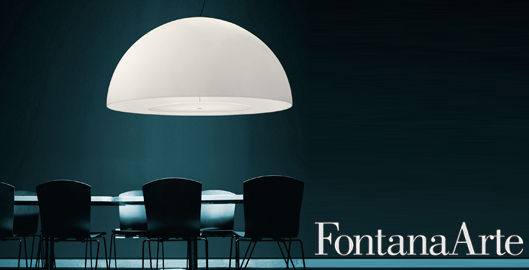 in de spotlight designverlichting van fontana arte. Black Bedroom Furniture Sets. Home Design Ideas